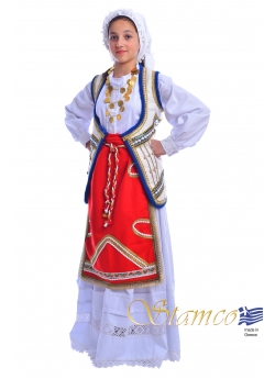 Traditional Dress Roumeli Girl