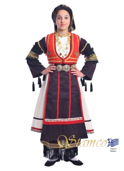 Traditional Dress Karagouna Girl