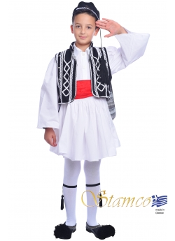 Traditional Dress Tsolias Black & White
