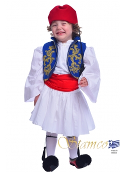 Traditional Dress Tsolias Baby Embroidered