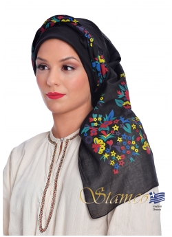 Traditional Cotton Scarf of Dodecanese Island