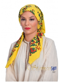 Traditional Cotton Scarf of Petrota - Thrace