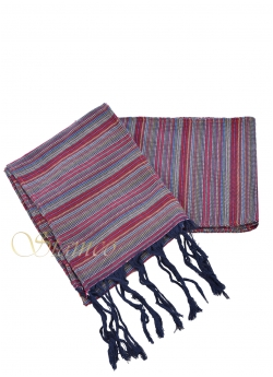 Traditional Cotton Belt with Fringes