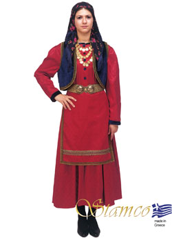 Traditional Dress Vlach Woman