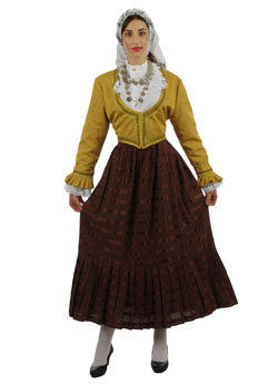 Traditional Dress Aegean Islands Woman