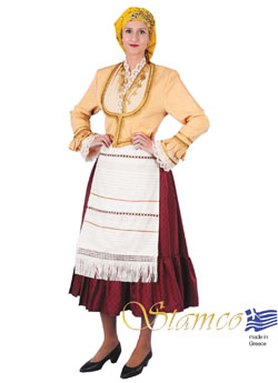 Traditional Dress Aegean Islands Kiuno