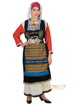 Traditional Dress Thrace Woman