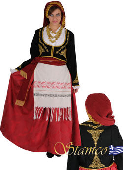 Traditional Dress Crete Woman