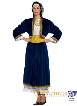 Traditional Dress Cyclades Woman