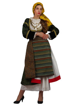Traditional Dress Megara Woman