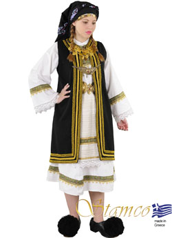 Traditional Dress Souliotissa Woman