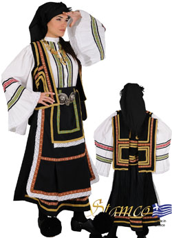 Traditional Dress Sarakatsana Woman