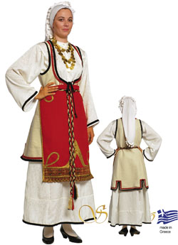 Traditional Dress Sterea Hellas Woman