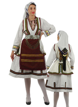 Traditional Dress Florina Woman
