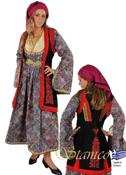 Traditional Dress Epirus Embroidery