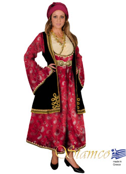 Traditional Dress Epirus Jaquard