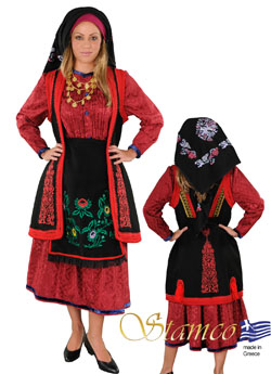 Traditional Dress Zagori Embroidery