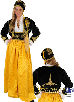 Traditional Dress Amalia Embr. Gold