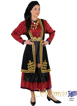 Traditional Dress Vlach With Secouni