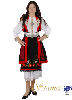 Traditional Dress Macedonia Embroidery