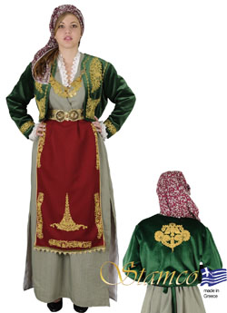 Traditional Dress Kapadokia With Embroidery