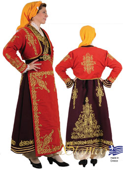 Traditional Dress Kapadokia Embroidery