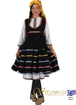Traditional Dress Ebonas Rhodes Island