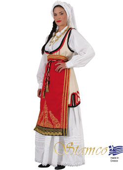 Traditional Dress Amfiklia Woman