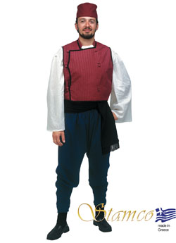 Traditional Dress Thrace Man