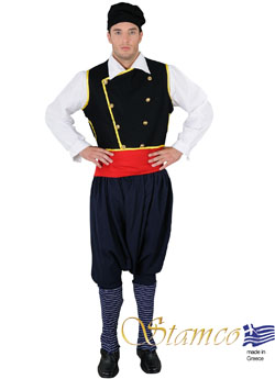 Traditional Dress Cephalonian Man