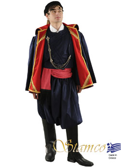 Traditional Dress Crete Man With Coat