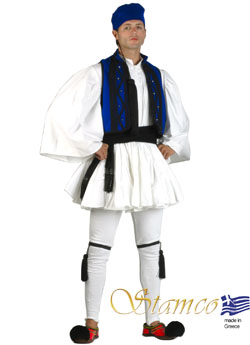 Traditional Dress Roumeli Man