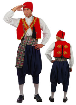 Traditional Dress Aegean Islands Embr.
