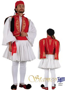 Traditional Dress Armatolos Kleftoyria