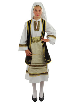Traditional Dress Souliotissa Girl