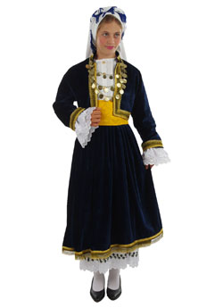 Traditional Dress Cyclades Girl