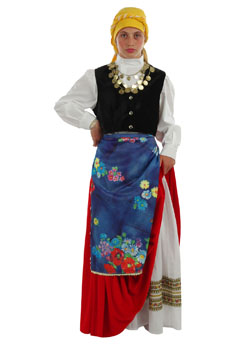 Traditional Dress Cefalonian  Girl
