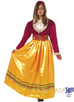 Traditional Dress Manto Mavrogenous