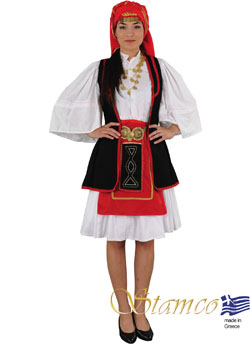 Traditional Dress Sarakatsana