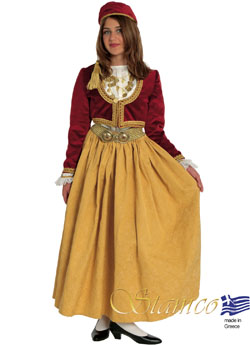 Traditional Dress Amalia Velvet Brocad