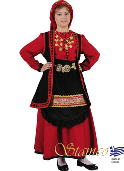 Traditional Dress Vlaha Girl