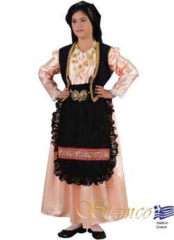 Traditional Dress Epirus Girl