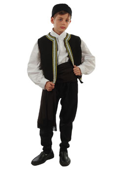 Traditional Dress Calkidiki Boy