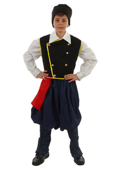 Traditional  Dress Kefalonia Boy