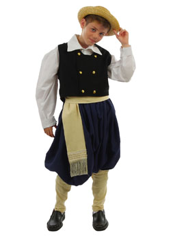 Traditional Dress Eptanissa Boy