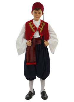Traditional Dress Aegean Islands Boy