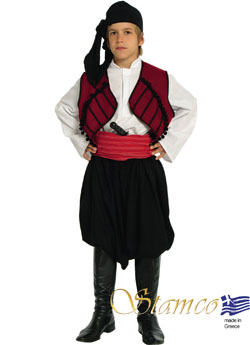 Traditional Dress Maniatis Boy