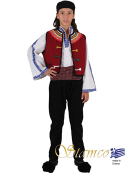 Traditional Dress Thrace Evros Boy