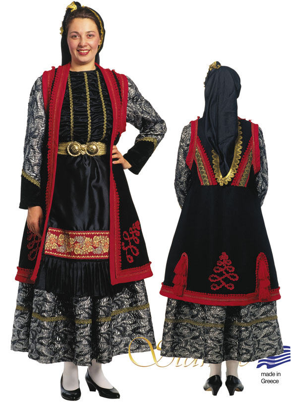 Traditional Dress Epirus Zitsa Woman