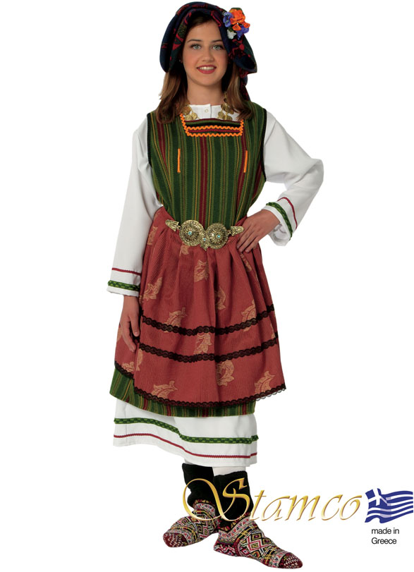 Traditional Dress Metaxades Woman